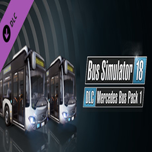 Buy Bus Simulator 18 Mercedes-Benz Bus Pack 1 CD Key Compare Prices