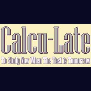 Buy Calcu-Late CD Key Compare Prices