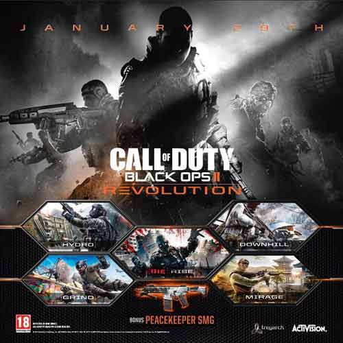 Buy COD Black Ops 2 dlc Revolution CD KEY Compare Prices