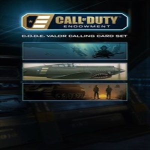 Call of Duty Black Ops 3 C.O.D.E. Valor Calling Cards