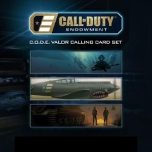 Call of Duty Black Ops 3 C.O.D.E. Valor Calling Cards