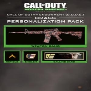 Call of Duty Modern Warfare Remastered C.O.D.E. Brass Pack