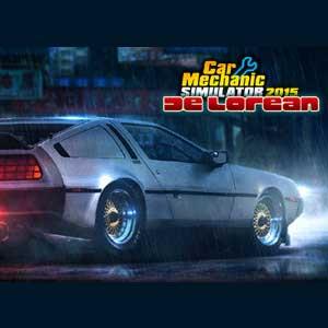 Car Mechanic Simulator 2015 DeLorean