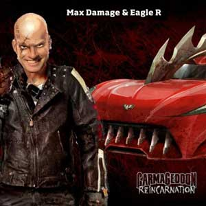 Carmageddon Reincarnation Red Eagle Car Model