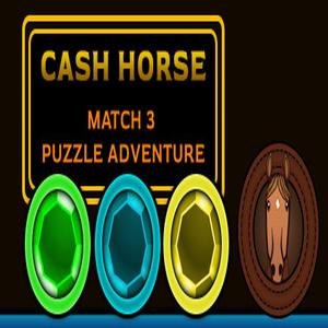 Cash Horse Match 3 Puzzle Adventure