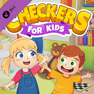 Checkers for Kids Toy Box