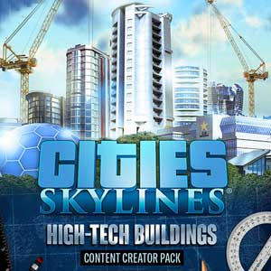 Buy Cities Skylines Content Creator Pack High-Tech Buildings CD Key Compare Prices