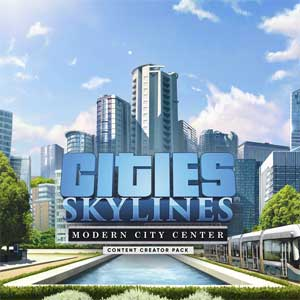 Cities Skylines Content Creator Pack Modern City Center