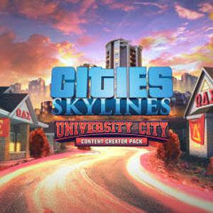 Cities Skylines Content Creator Pack University City