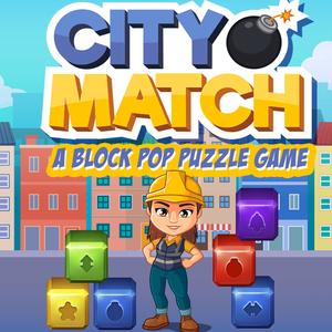 City Match A Block Pop Puzzle Game