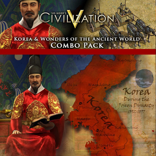 Buy Civilization 5 Korea and Wonders of the Ancient World Combo Pack CD Key Compare Prices