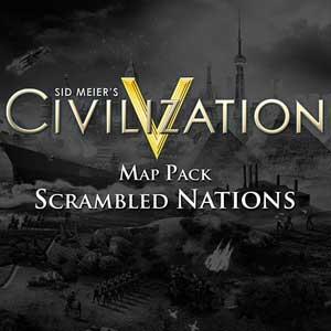 Civilization 5 Scrambled Nations Map Pack