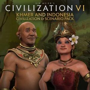 Civilization 6 Khmer and Indonesia Civilization & Scenario Pack