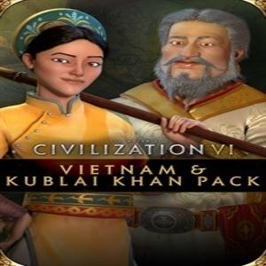 Civilization 6 Vietnam and Kublai Khan Pack