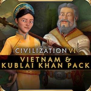 Civilization 6 Vietnam & Kublai Khan Pack