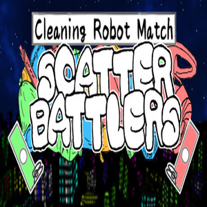 Cleaning Robot Match Scatter Battlers