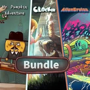 Clocker and Mr. Pumpkin Adventure and Alien Cruise Bundle