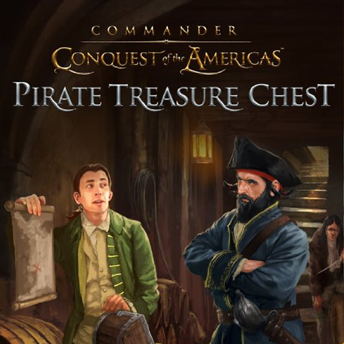 Commander Conquest of the Americas Pirate Treasure Chest
