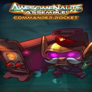 Commander Rocket Awesomenauts Assemble Character