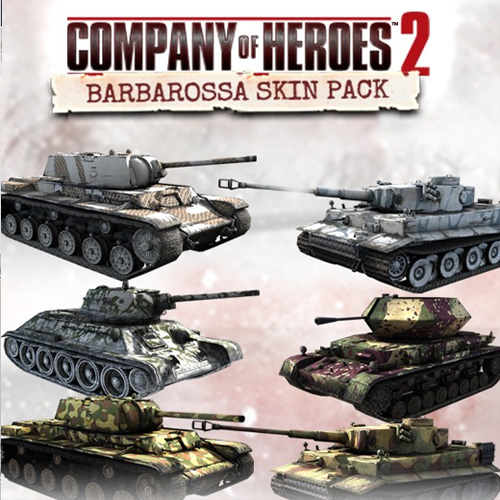 Company of Heroes 2 Barbarossa Skin Pack