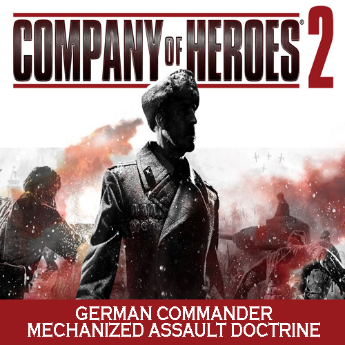 Buy Company of Heroes 2 German Commander Mechanized Assault Doctrine CD Key Compare Prices