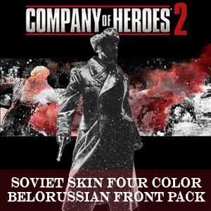 Buy Company of Heroes 2 Soviet Skin Four Color Belorussian Front Pack CD Key Compare Prices