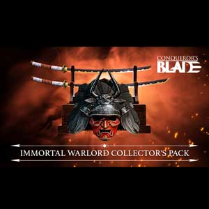 Conqueror's Blade Immortal Warlord Collector's Pack