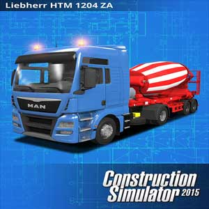 Construction Simulator 2015 LIEBHERR HTM 1204 ZA