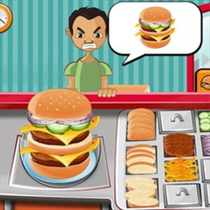 Cooking Fast Burger