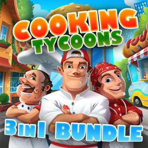 Cooking Tycoons 3 in 1 Bundle Robot