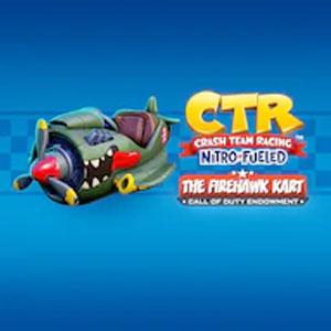 Crash Team Racing Nitro-Fueled The Firehawk Kart