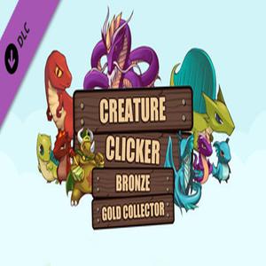 Creature Clicker Bronze Gold Collector