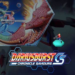 DARIUSBURST Chronicle Saviours Space Harrier