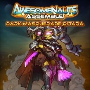Dark Masquerade Qi Tara Awesomenauts Assemble Skin