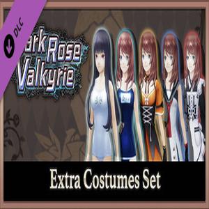 Dark Rose Valkyrie Extra Costumes Set
