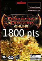 1800 Points Turbine Dungeons & Dragons Online