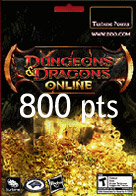 800 Points Turbine Dungeons & Dragons Online