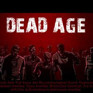 Buy Dead Age CD Key Compare Prices