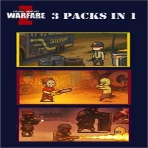 Dead Ahead Zombie Warfare 3 Packs in 1