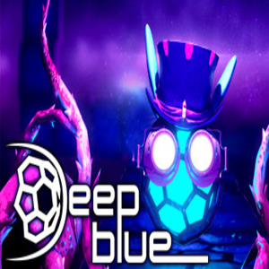 Deep Blue 3D Maze in Space