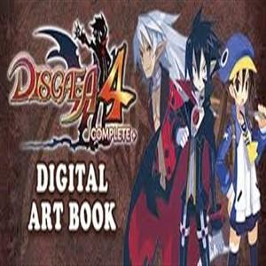 Disgaea 4 Completeplus Digital Art Book