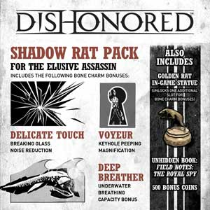 Buy Dishonored Shadow Rat Pack CD Key Compare Prices