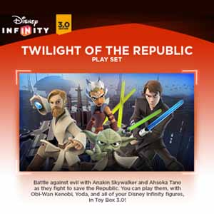 Buy Disney Infinity 3.0 Twilight of the Republic Play Set CD Key Compare Prices