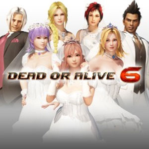 DOA6 Happy Wedding Costume Vol.2 Set