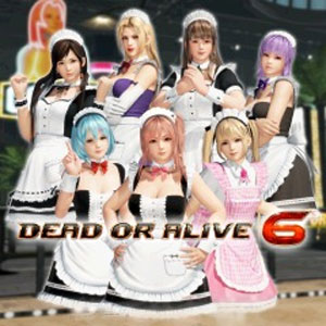DOA6 Maid Costume Set