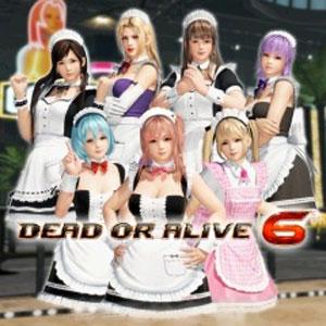 DOA6 Maid Costume Set