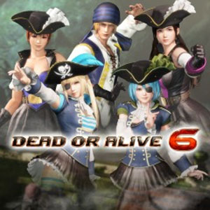 DOA6 Pirates of the 7 Seas Costumes Vol. 2 Set