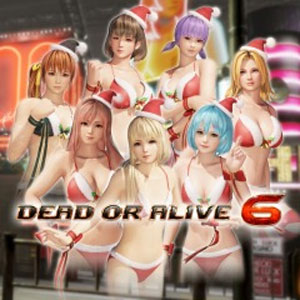 Buy DOA6 Santa Bikini Set PS4 Compare Prices