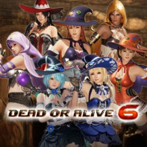 DOA6 Witch Party Costume Set