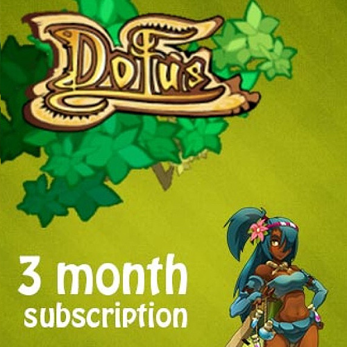 Buy Dofus 3 Months Subscription GameCard Code Compare Prices